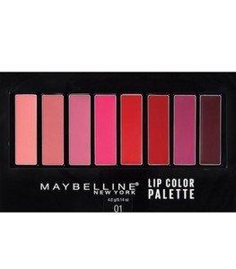 Maybelline Lip Color Palette - پالت لب میبلین